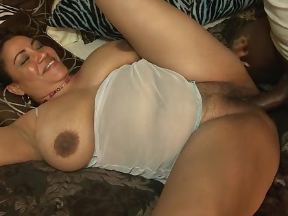 Exotic pornstar in horny mature, gloomy and ebony carnal knowledge clip
