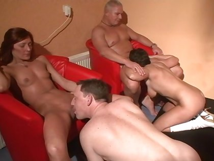 Used non-professional people enjoying some nice orgy and having tons of fun