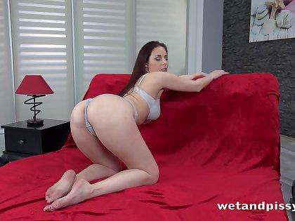 Emotional black head with sexy ass Antonia Sainz is eccentric wet nympho