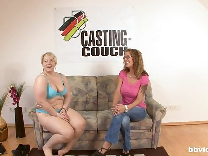 Nice fucking on the casting embed with an amateur German MILF