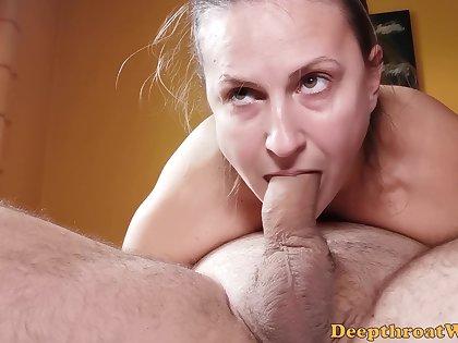 Trailer - 69 Blowjob - Sloppy Head From Real Inexpert Bungle