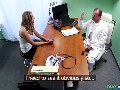 Handsome turns out that Ivana Sugar gets fucked by a naughty doctor