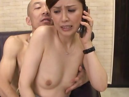 Skinny Japanese chick Yurie Matushima gets fucked hard by her lover