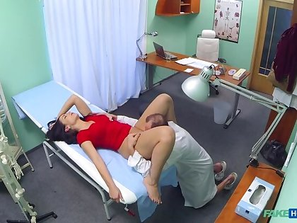 Sexy Patient Gets Cock Treatment