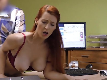 LOAN4K. Isabella gives will not hear of shaved vagina for fucking to get big loan - Big tits